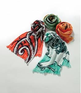 歌舞伎毛巾 圍巾式樣